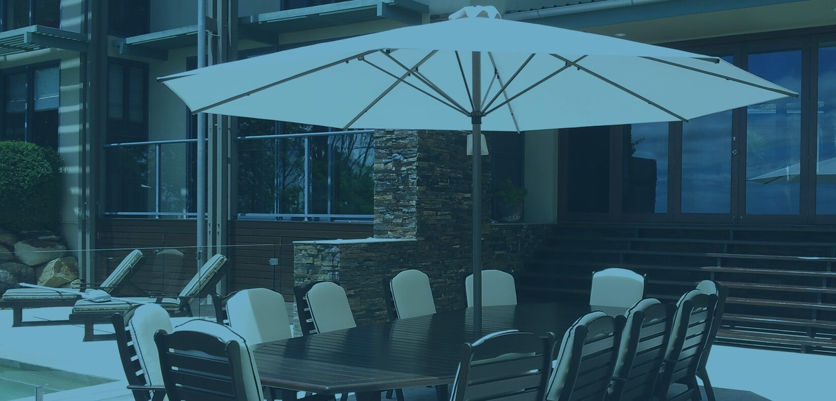 Cafe Umbrellas Brisbane Ultrashade Outdoor Umbrellas
