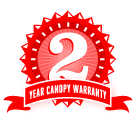2 Year Umbrella Canopy Warranty