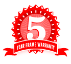 5 Year Umbrella Frame Warranty