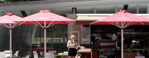 Cafe Umbrellas Brisbane