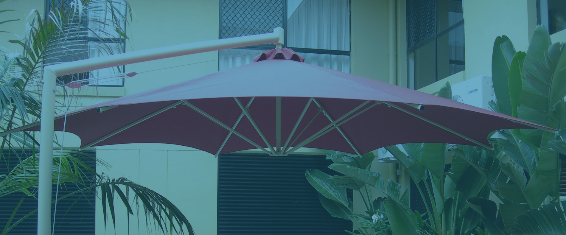 Side Post Outdoor Umbrellas Brisbane Perth And Qld Australia